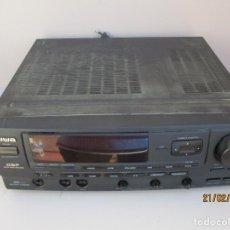 Radios antiguas: AMPLIFICADOR AIWA PROBADO ENTRADAS AUX1 AUX2 PHONO Y FUNCIONA VER MAS DESCRIPCION. Lote 194850547