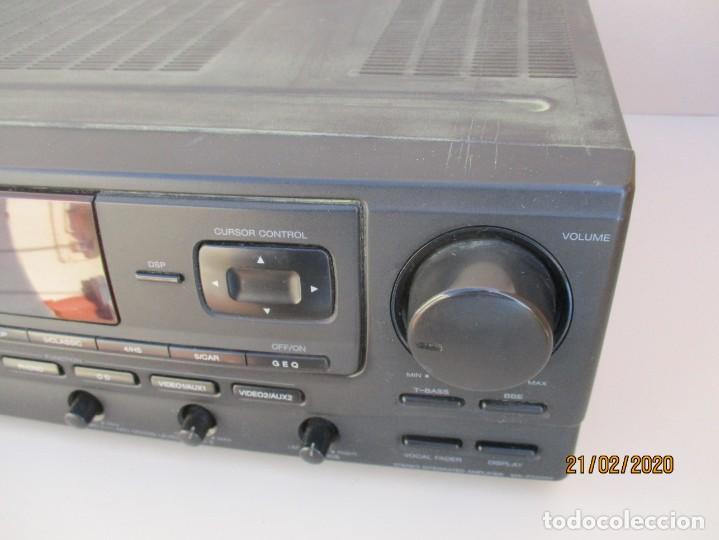 Radios antiguas: AMPLIFICADOR AIWA PROBADO ENTRADAS AUX1 AUX2 PHONO Y FUNCIONA ver mas descripcion - Foto 3 - 194850547