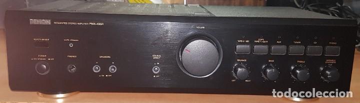 AMPLIFICADOR DENON PMA -495R (Radios, Gramófonos, Grabadoras y Otros - Amplificadores y Micrófonos de Válvulas)