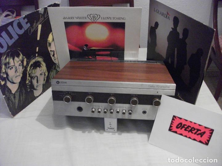 Radios antiguas: VINTAG AMPLIFICADOR INGLES MODELO **DELTA 70** - Foto 2 - 195075913