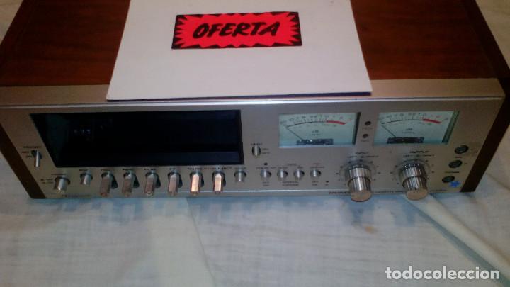VINTAG DECK CASETTE **PIONEER MODEL CT F.7171** (Radios, Gramófonos, Grabadoras y Otros - Amplificadores y Micrófonos de Válvulas)