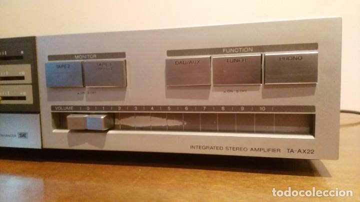 Radios antiguas: AMPLIFICADOR SONY TA-AX3 - Foto 4 - 195210397