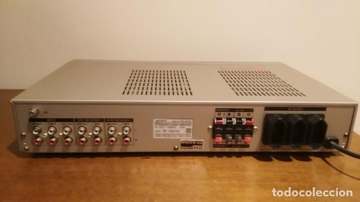 Radios antiguas: AMPLIFICADOR SONY TA-AX3 - Foto 8 - 195210397