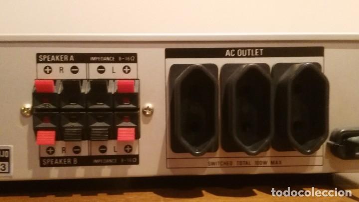 Radios antiguas: AMPLIFICADOR SONY TA-AX3 - Foto 10 - 195210397