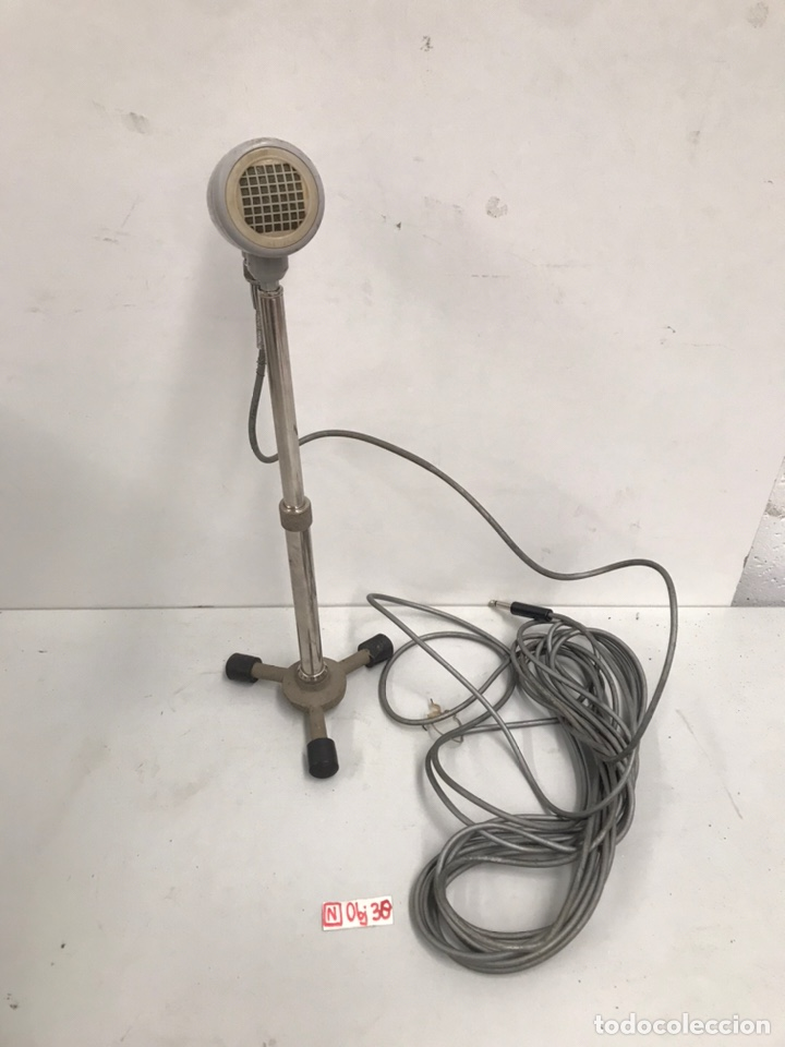 ANTIGUO MICRÓFONO RONETTE (Radios, Gramófonos, Grabadoras y Otros - Amplificadores y Micrófonos de Válvulas)