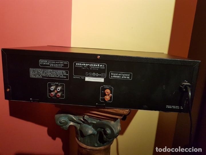 Radios antiguas: PLETINA MARANTZ SD-525 - Foto 6 - 195330657