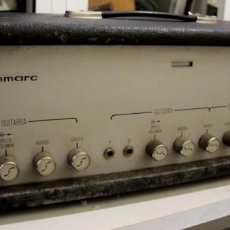 Radios antiguas: AMPLIFICADOR A VÁVULAS, GUITARRA Y BAJO. SINMARC 2160C. Lote 195473451