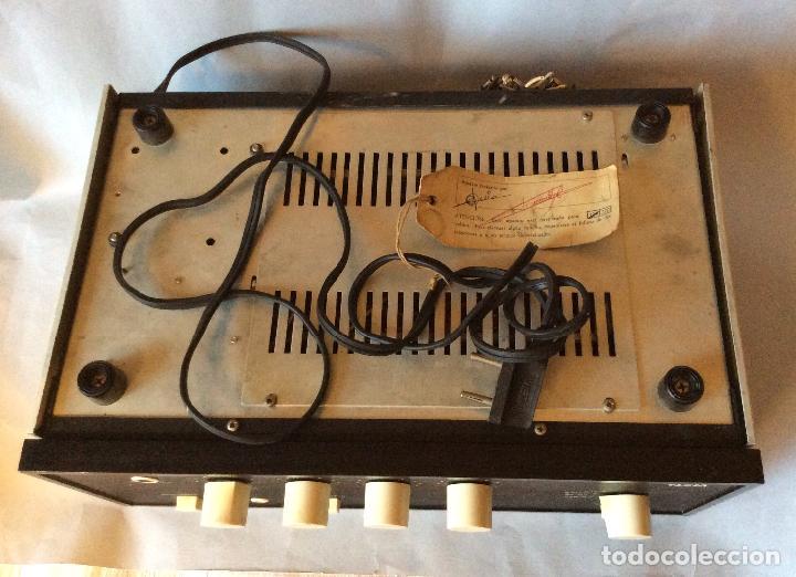Radios antiguas: Amplificador de Fabricación Española vieta Uno - Foto 3 - 198054510