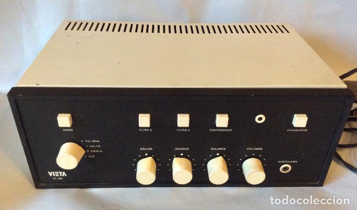 AMPLIFICADOR DE FABRICACIÓN ESPAÑOLA VIETA UNO (Radios, Gramófonos, Grabadoras y Otros - Amplificadores y Micrófonos de Válvulas)