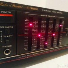Radios antiguas: FISHER CA-863 / AMPLIFICADOR / FABRICADO EN JAPON / MUY BUEN ESTADO. Lote 198306366