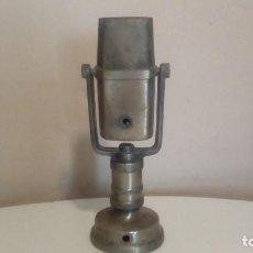 Radios antiguas: ANTIGUO ¿ MICROFONO ? DE METAL. Lote 200531971