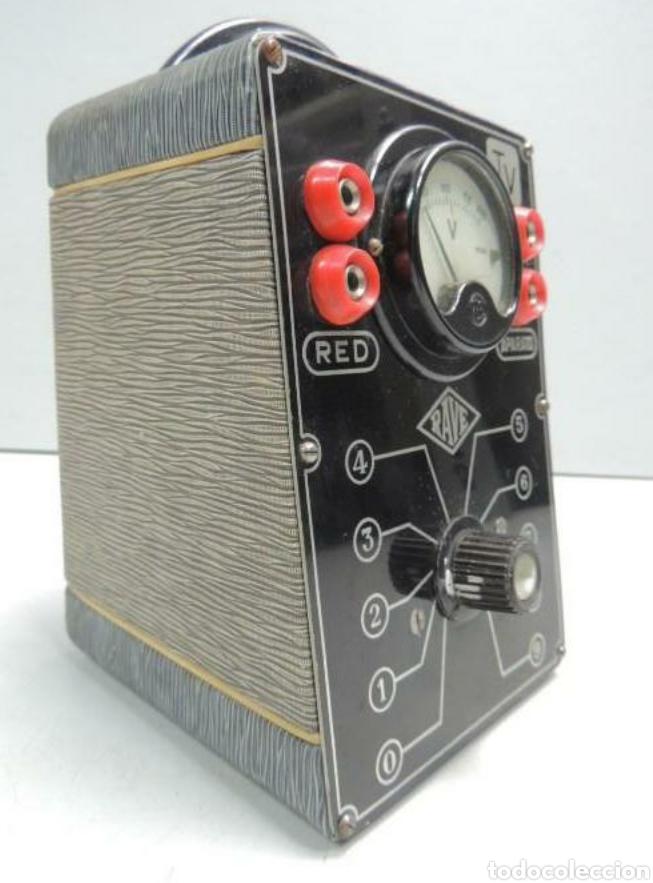 Radios antiguas: Voltimetro Rave - Foto 2 - 201358862