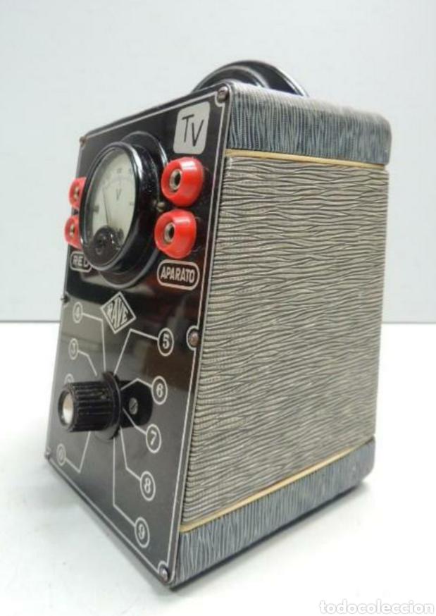 Radios antiguas: Voltimetro Rave - Foto 3 - 201358862