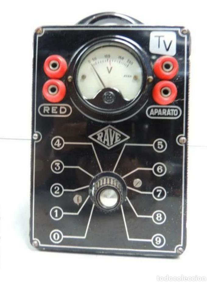 VOLTIMETRO RAVE (Radios, Gramófonos, Grabadoras y Otros - Amplificadores y Micrófonos de Válvulas)