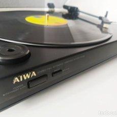 Radios antiguas: AIWA PX-E80 / TOCADISCOS / SEMINUEVO. Lote 202995095