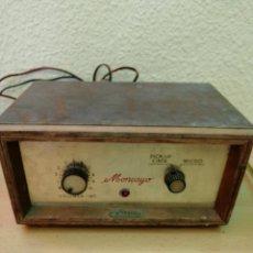 Radios antiguas: AMPLIFICADOR OPTIMUS MODELO MONCAYO. Lote 203195981