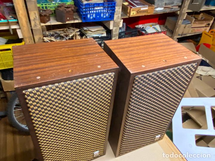 Radios antiguas: ALTAVOCES VINTAGE VIETA PR-500 DELTA SERIES EN CAJA - ACUTRES SA BARCELONA 25x20x45 cm - Foto 2 - 205018647