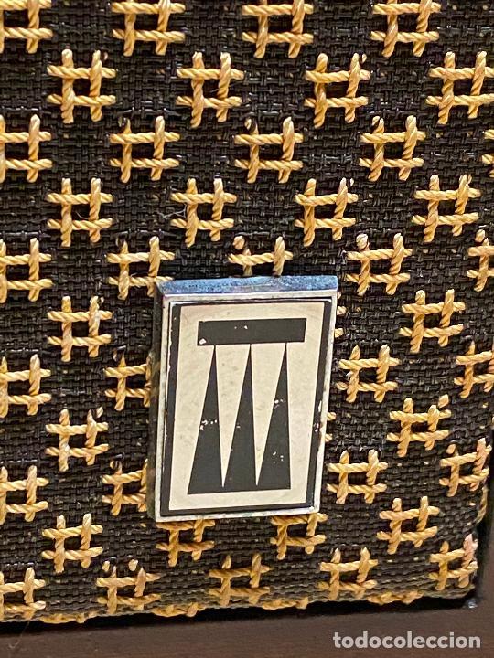 Radios antiguas: ALTAVOCES VINTAGE VIETA PR-500 DELTA SERIES EN CAJA - ACUTRES SA BARCELONA 25x20x45 cm - Foto 5 - 205018647