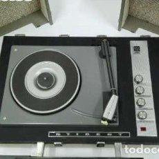 Radios antiguas: ESQUEMA DEL AMPLIFICADOR DEL TOCADISCOS STIBERT 908 DIAMANTE DELUXE STEREO. Lote 205408267