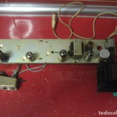 Radios antiguas: PROYECTO DE AMPLIFICADOR A VÁLVULAS. Lote 206898672