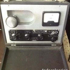 Radios antiguas: SONOMETRO .ANGLO.GRAN TAMAÑO ...DE MALETA. MICRO DIRECCIONABLE. COMPLETO. PIEZA DE COLECCION. RARO.. Lote 207464980