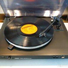 Radios Anciennes: PLATO / TURNTABLE HI-FI BRIGMTON VINTAGE . TODO METAL. PERFECTO FUNCIONAMIENTO.. Lote 208459473