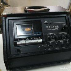 Rádios antigos: REPRODUCTOR DE CASETE Y AMPLIFICADOR EDUCCASETTE BARTHE MADE IN FRANCE FUNCIONANDO PERFECTAMENTE. Lote 210259671