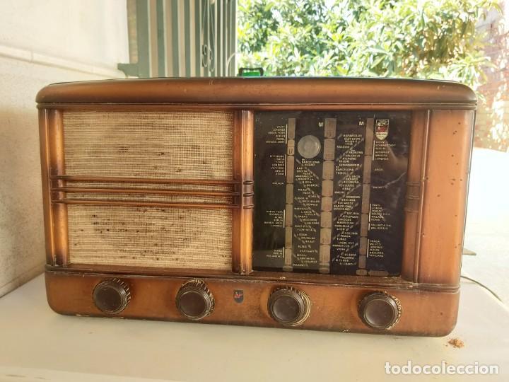 ANTIGUA RADIO MUY GRANDE VALVULAS CLARION USA RADIOS (Radios, Gramófonos, Grabadoras y Otros - Amplificadores y Micrófonos de Válvulas)