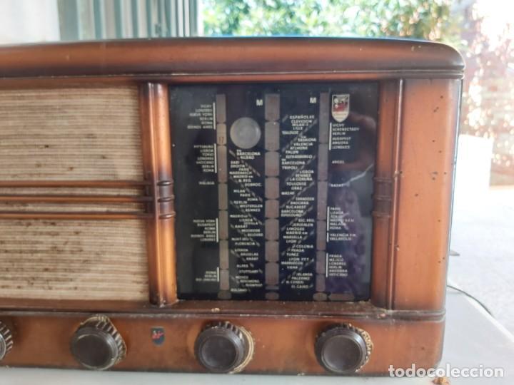 Radios antiguas: ANTIGUA RADIO MUY GRANDE VALVULAS CLARION USA RADIOS - Foto 6 - 210590316