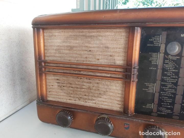 Radios antiguas: ANTIGUA RADIO MUY GRANDE VALVULAS CLARION USA RADIOS - Foto 7 - 210590316
