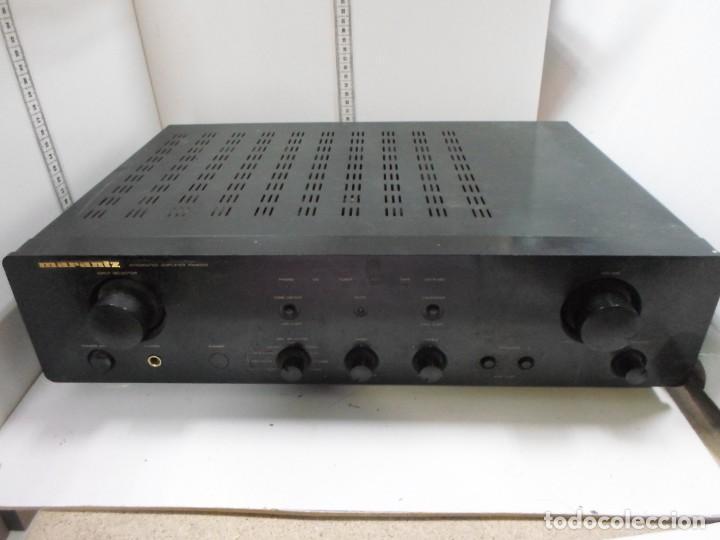 MARANTZ AMPLIFICADOR (Radios, Gramófonos, Grabadoras y Otros - Amplificadores y Micrófonos de Válvulas)