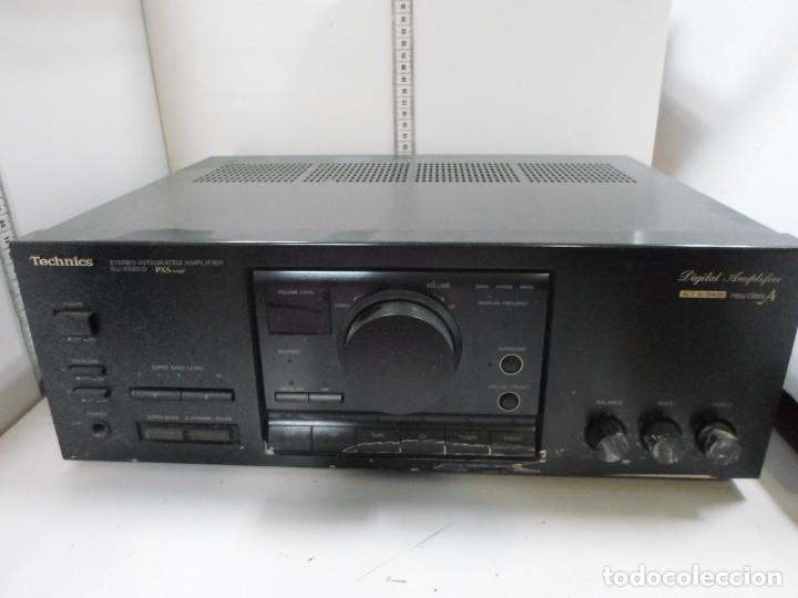 TECHNICS AMPLIFICADOR SU X520 D (Radios, Gramófonos, Grabadoras y Otros - Amplificadores y Micrófonos de Válvulas)