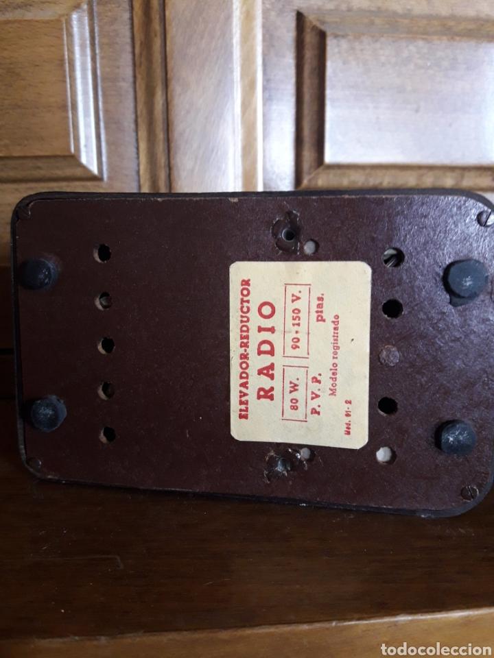 Radios antiguas: Antiguo elevador reductor de radio Hezlo - Foto 6 - 213239340