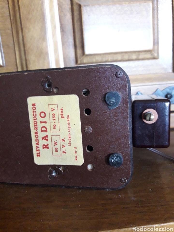 Radios antiguas: Antiguo elevador reductor de radio Hezlo - Foto 7 - 213239340