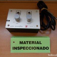 Radios antiguas: ENVIO 4€ PREVIO PREAMPLIFICADOR DE GUITARRA SALES KIT Nº 47 RETRO & VINTAGE FUNCIONANDO. Lote 214044246