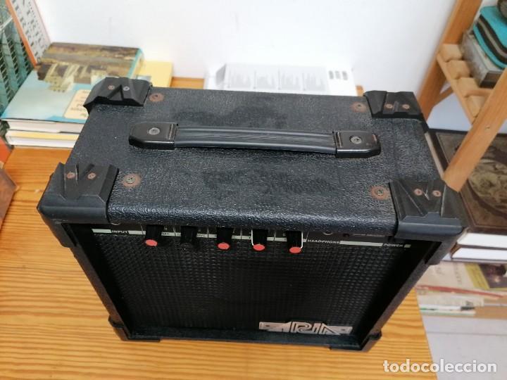Radios antiguas: AMPLIFICADOR DE GUITARRA ARIA AG-15. - Foto 2 - 214285935