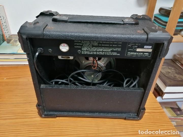 Radios antiguas: AMPLIFICADOR DE GUITARRA ARIA AG-15. - Foto 3 - 214285935