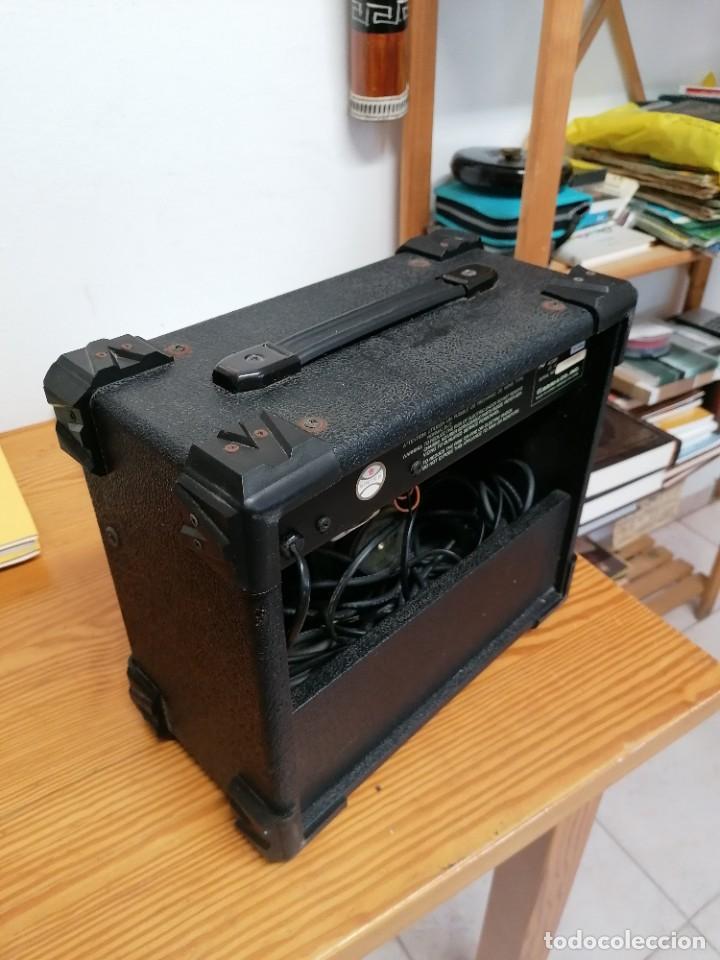Radios antiguas: AMPLIFICADOR DE GUITARRA ARIA AG-15. - Foto 5 - 214285935
