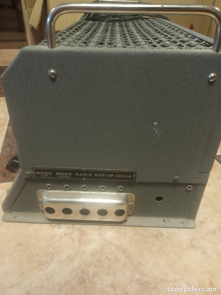 Radios antiguas: Antiguo y enorme amplificador de válvulas. Óptimus radio. 125 V. 150W. Muy pesado. - Foto 11 - 214411351