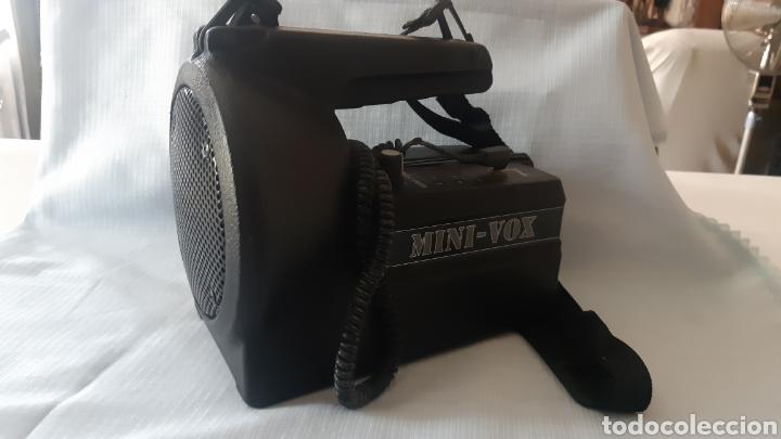 Radios antiguas: AMPLIFICADOR MINIVOX MOD PB-25 PORTATIL - Foto 7 - 216564138