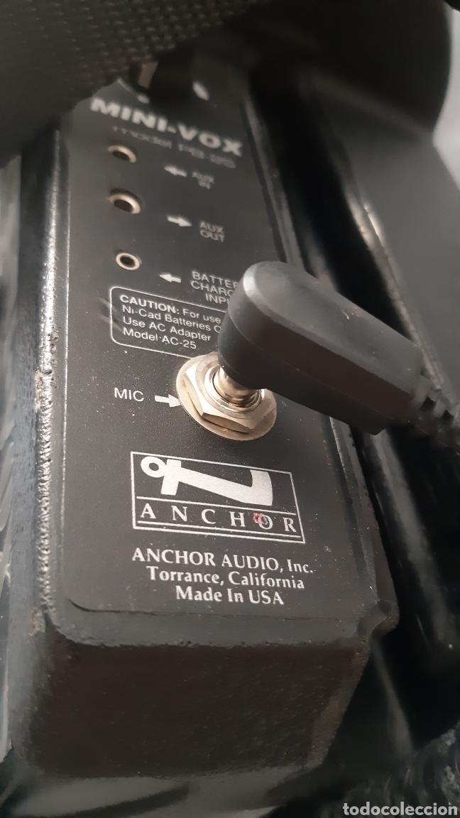 Radios antiguas: AMPLIFICADOR MINIVOX MOD PB-25 PORTATIL - Foto 9 - 216564138