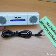 Radios antiguas: ENVIO CON TC: 4€ MINI AMPLIFICADOR STEREOFONICO INVES PARA MP3 WALKMAN DISCMAN ETC FUNCIONANDO. Lote 216865940