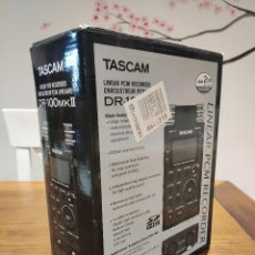 Radios antiguas: TASCAM DR-100 MKII COMO NUEVA. Lote 217660437
