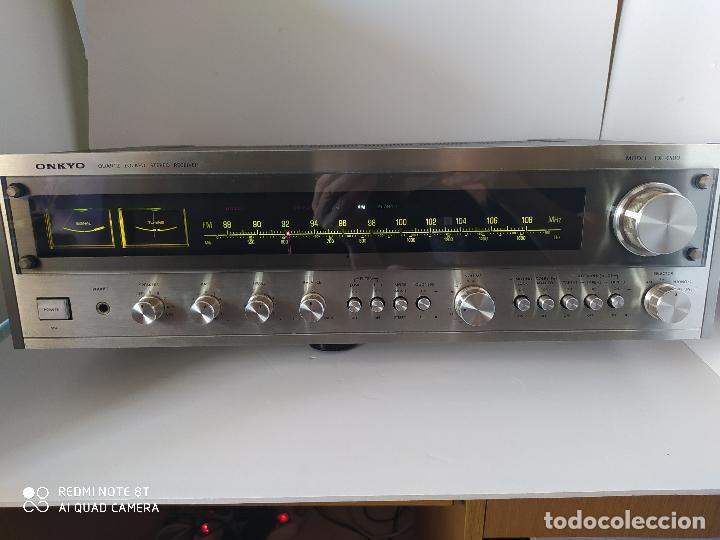 RECEIVER ONKYO TX 4500 /MONSTER VINTAGE DE ONKYO 1975/PARA ELEGIDOS... (Radios, Gramófonos, Grabadoras y Otros - Amplificadores y Micrófonos de Válvulas)