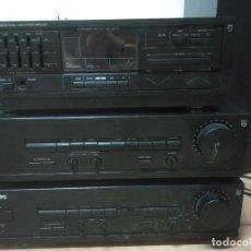 Rádios antigos: LOTE DE TRES AMPLIFICADORES PHILIPS -ALGUNDEFECTO. Lote 218726302