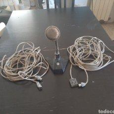 Radios Anciennes: VINTAGE MICRÓFONO BOUYER CON PIE PARA MESA AÑOS 70. Lote 218893126