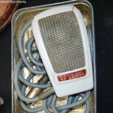 Radios antiguas: MICRÓFONO GRUNDING.. AÑOS 60..70.. Lote 218994880