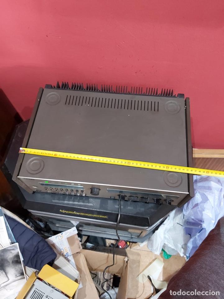 Radios antiguas: AMPLIFICADOR-SINTONIZADOR SIEMENS RS 555 ....MUY RARO . Funciona. Ver el peso y las medidas en fotos - Foto 3 - 219917508