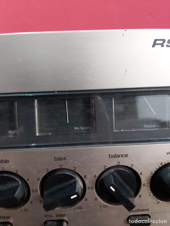 Radios antiguas: AMPLIFICADOR-SINTONIZADOR SIEMENS RS 555 ....MUY RARO . Funciona. Ver el peso y las medidas en fotos - Foto 6 - 219917508