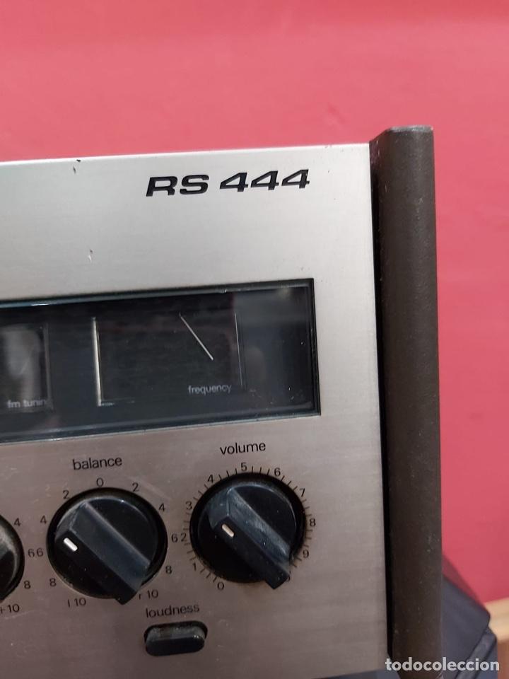 Radios antiguas: AMPLIFICADOR-SINTONIZADOR SIEMENS RS 555 ....MUY RARO . Funciona. Ver el peso y las medidas en fotos - Foto 7 - 219917508